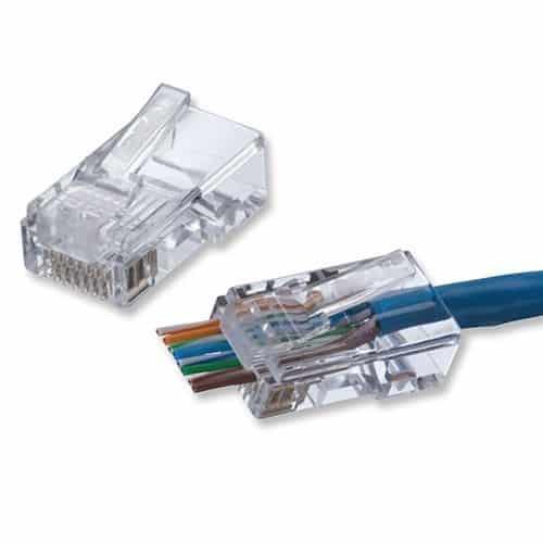 CNET Quick Plug Cat6 Pkt50